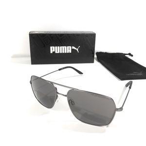 Puma Ruthenium Grey Sunglasses PE0024S New w/ box